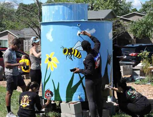 Grilling and Painting At North Chicago Garden